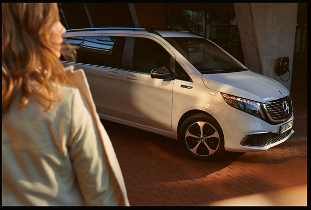 RECOM : The all new Mercedes-Benz EQV Campaign