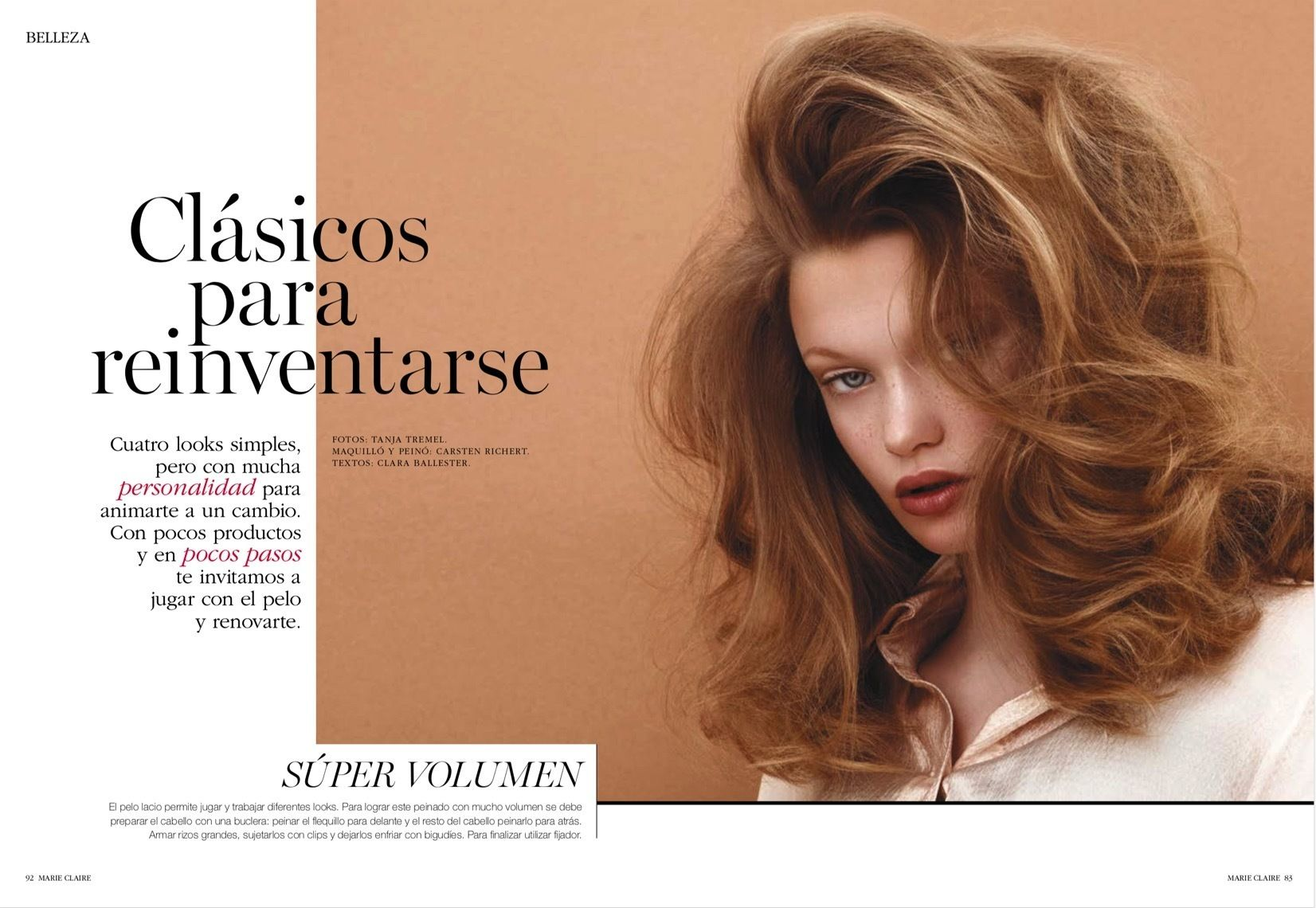 ANDREA HEBERGER GMBH & Marie Claire