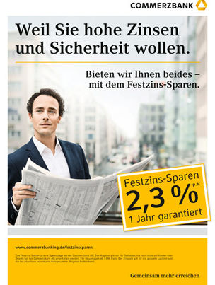 DOMINIK MENTZOS for COMMERZBANK