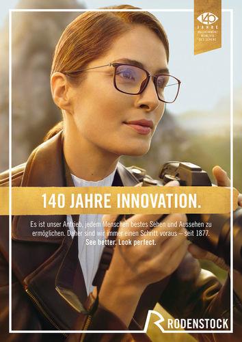 Rodenstock 140 Jahre-Kampagne von EDISONGA