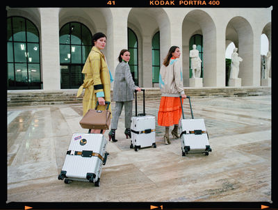 PRODUCTION BERLIN : RIMOWA X FENDI