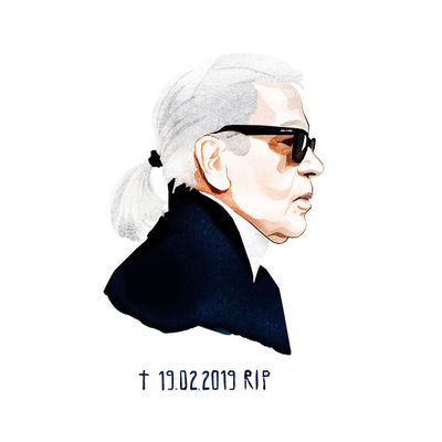 Tribute to Karl Lagerfeld / Nina Tiefenbach