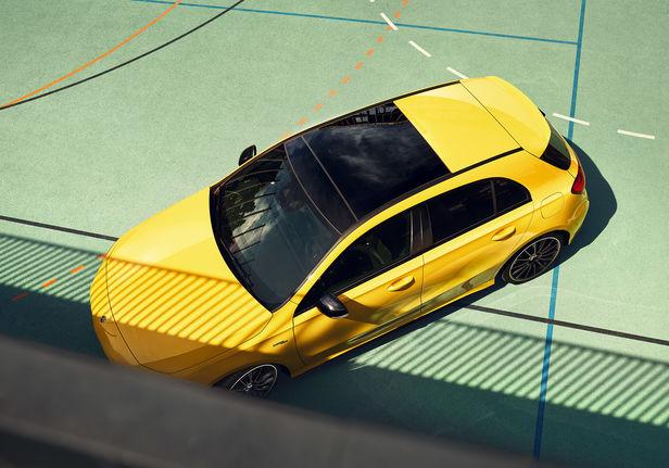 MIERSWA-KLUSKA - personal automotive lifestyle projekt with AMG A-class