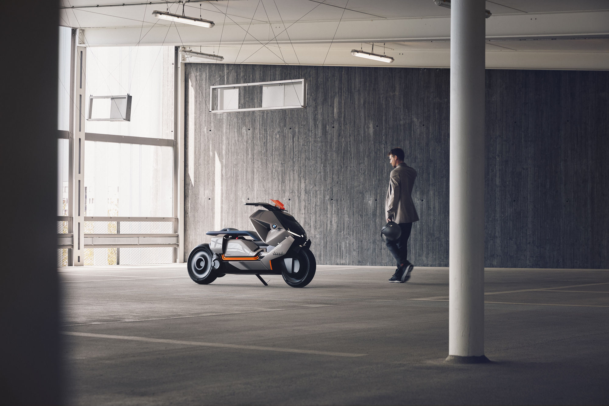 Robert Westrich für BMW Scooter Concept