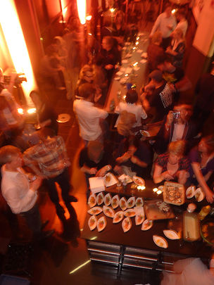 UPdate After Party & Live Cooking at Saatchi & Saatchi