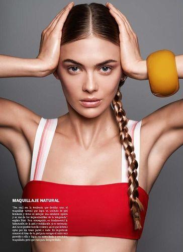 Megan Williams for Issue Magazine shot by Derek Kettela
