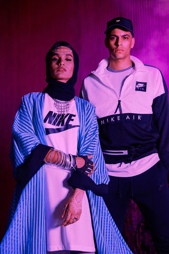 RJ Shaughnessy c/o GIANT ARTISTS photographed the Summer 2018 line for Nike EU