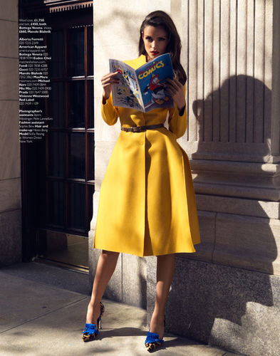 ASA TALLGARD : Sofia RESING for GRAZIA UK