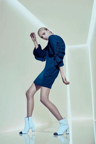 Caro for Kaltblut Magazine shot by Monika Sedlmayr