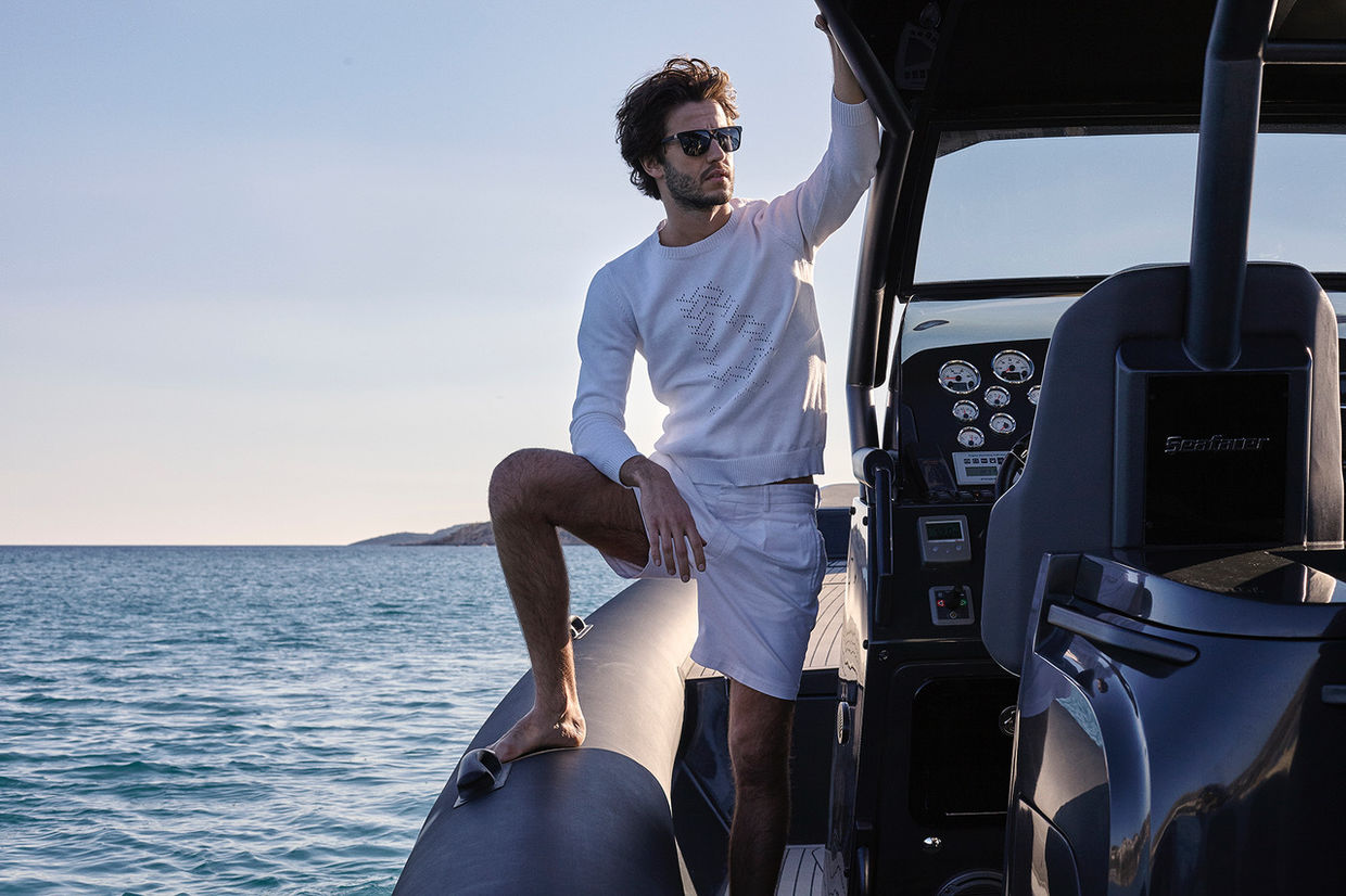 LUCA DAVID for AZZARO L'Hommes SS 17 campaign