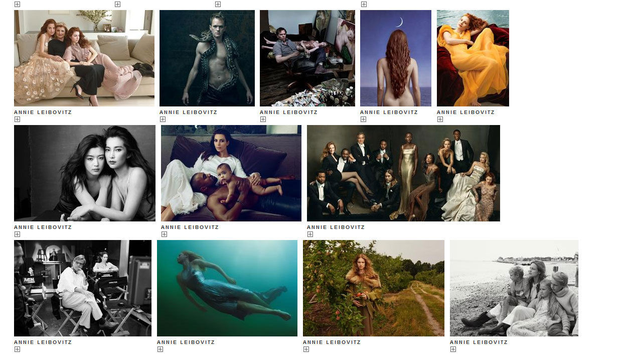 TRUNK ARCHIVE featuring Annie Leibovitz