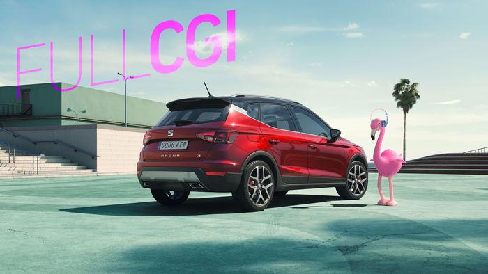 RECOM CGI : SEAT Arona Campaign Still - FULL-CGI