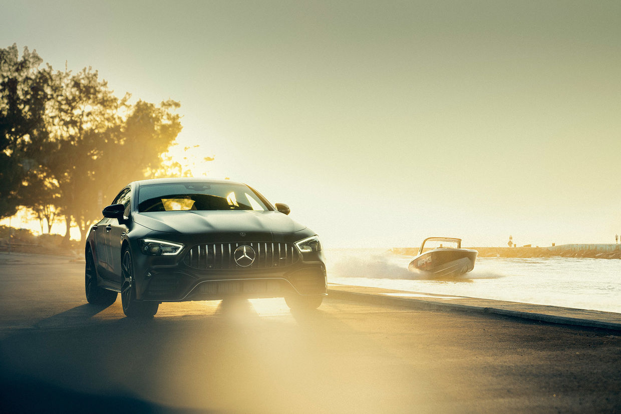 UPFRONT PHOTO & FILM GMBH: Frederic Schlosser for MERCEDES-AMG