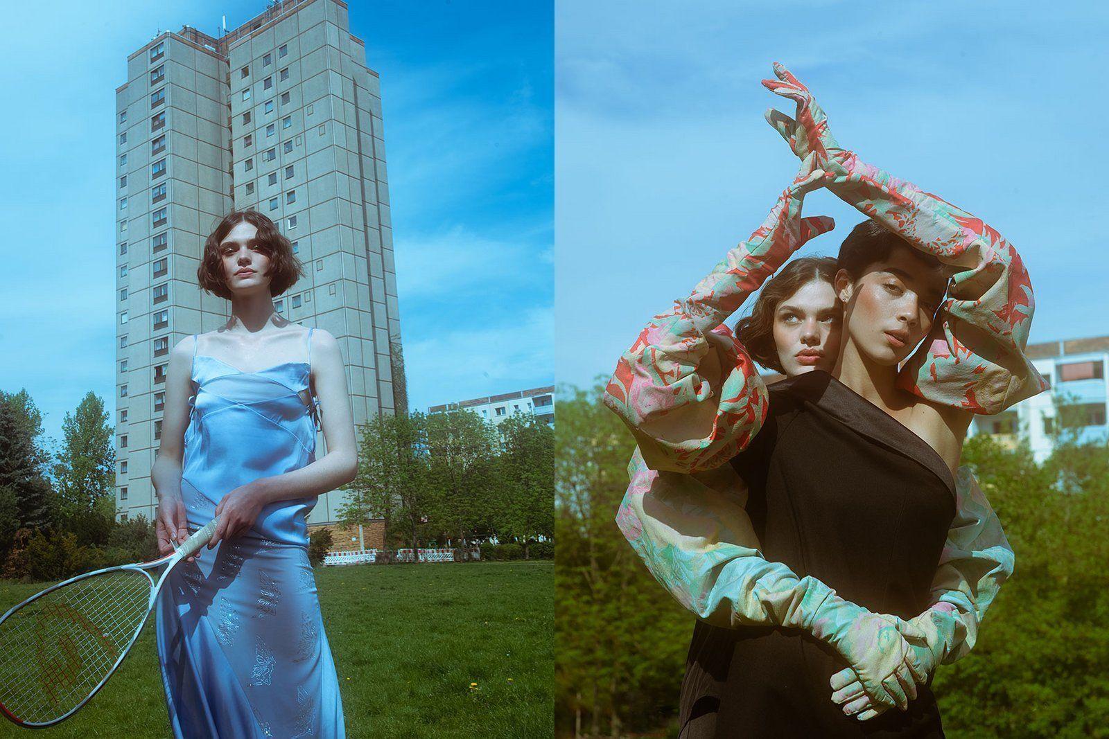Saskia Jung & Patricia Heck /co NINA KLEIN for Nylon Magazine