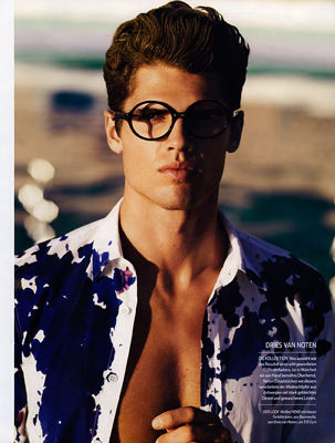 BIGOUDI : HAUKE Krause for MEN'S HEALTH BEST FASHION