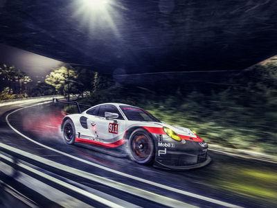 BILDERGUT : Composing / Porsche 911 RSR