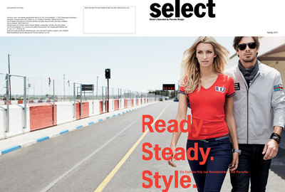 KARINA BEDNORZ : Beatrice HEYDIRI for SELECT - DRIVER'S SELECTION BY PORSCHE DESIGN