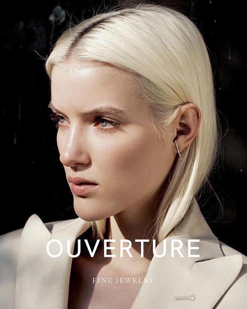 NINA KLEIN, Hair Make Up: Tinna Empera for Ouverture by Edda Petursdottir