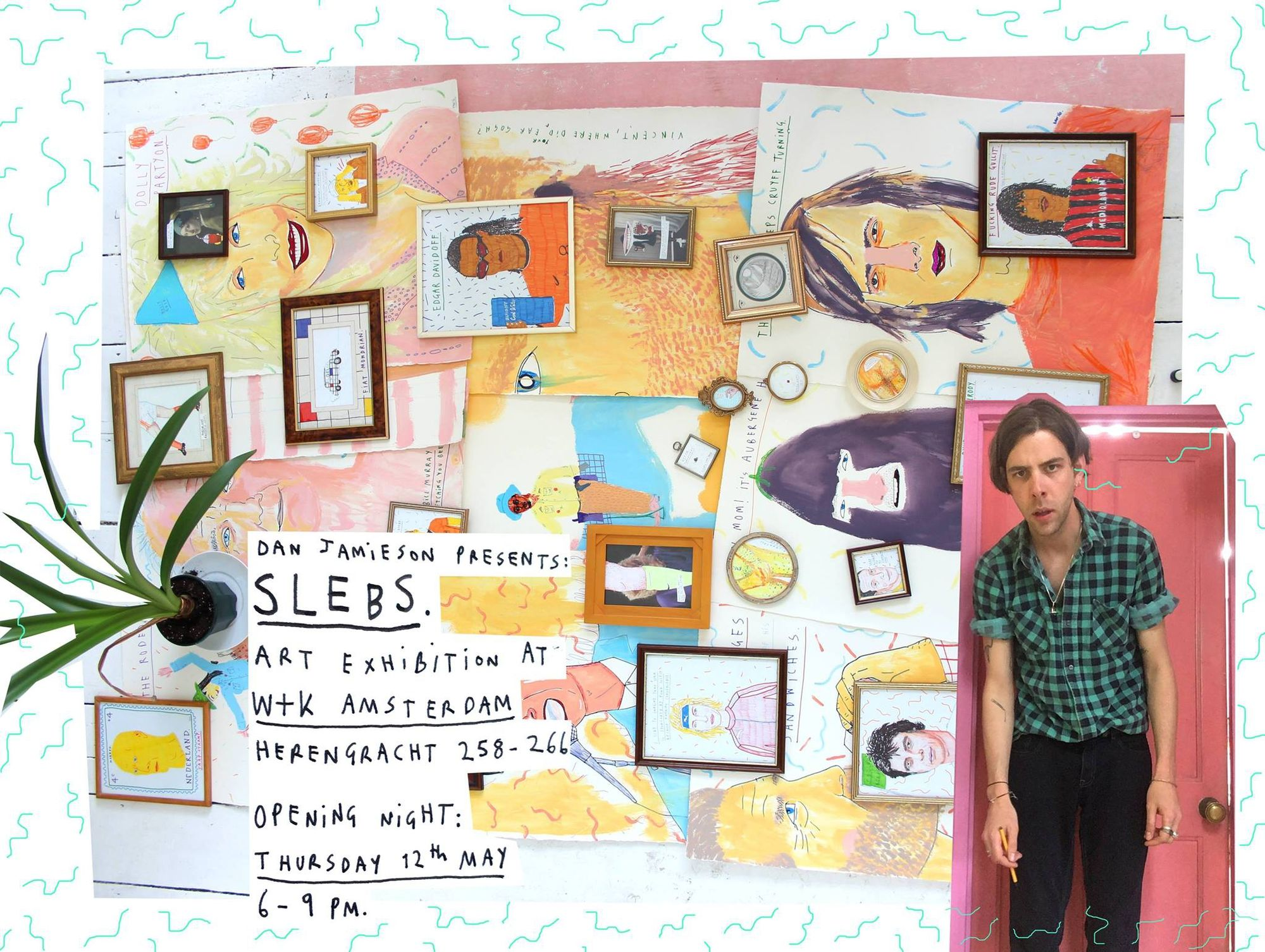 Wieden+Kennedy Amsterdam :  'SLEBS', an exhibition by London-based artist Dan Jamieson