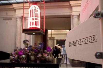 SOLOMON I WINTER GBR for HESS NATUR / Fashion Week Installation