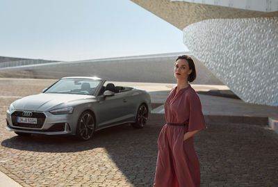 KLAUS STIEGEMEYER: JUERGEN BERDEROW & CLAUDIA SCHOLTAN for AUDI