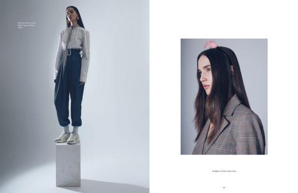 ANNA DAKI & SASKIA SCHMIDT for One Magazine
