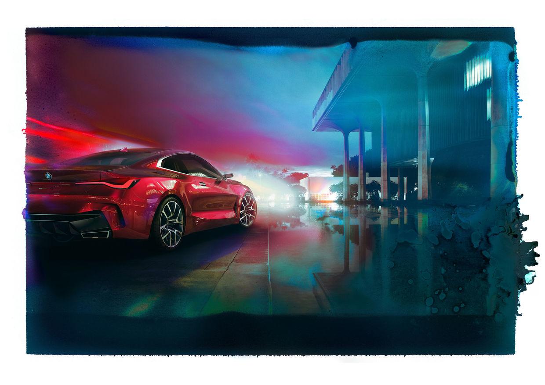 """RECOM CGI : BMW """"Concept 4"""" - Ralph Mecke"""