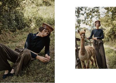 ALYSSA PIZER MANAGEMENT: Alpaca Farm By Colette de Barros