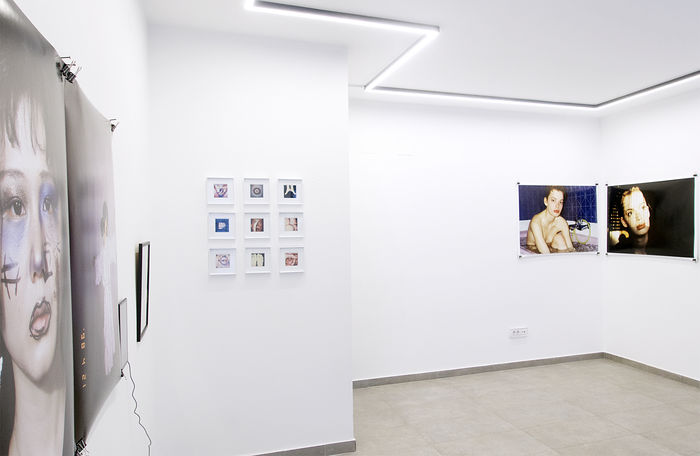 Re-Searching Identity by SUSANNE JUNKER. Installation view at Laufer Art Gallery, Belgrade, Serbia.