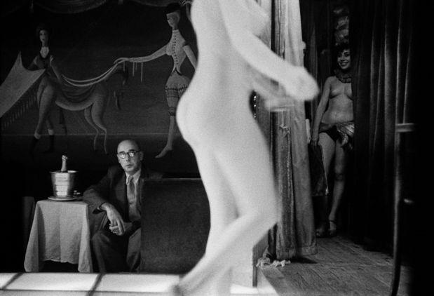 Galerie Hiltawsky : Frank Horvat - 1956, Paris, le Sphynx