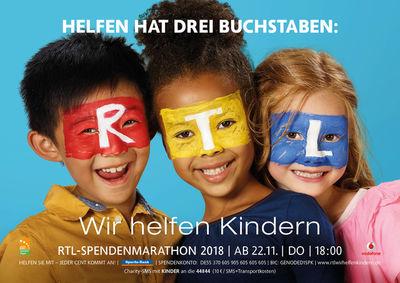 RUPRECHT STEMPELL FOR MEDIENGRUPPE RTL -  SPENDENMARATHON 2018