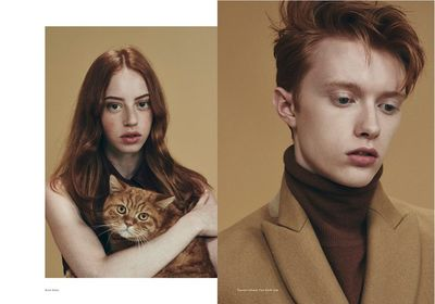 AFPHOTO: INA LEKIEWICZ for Puss Puss Magazine