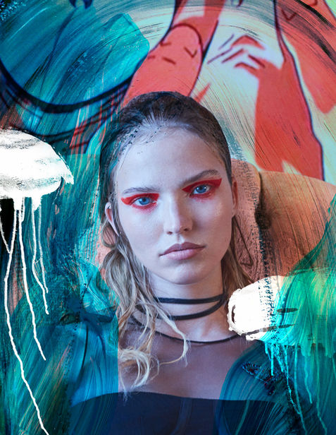 LAMPOON WITH SASHA LUSS by HUNTER & GATTI