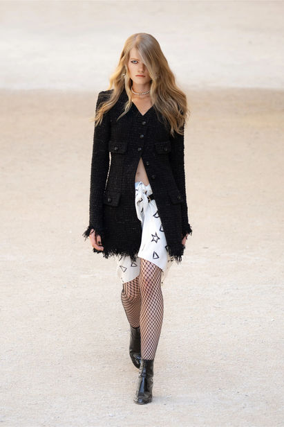 Berlin Based Madeleine Fischer for Chanel Cruise 2021/22 Show ICONIC