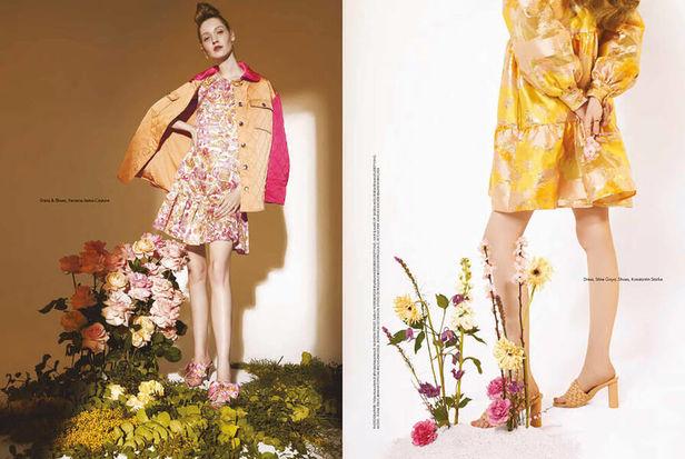 New Artist : Valentina TEINITZER c/o BIGOUDI, Floral Stylist & Botanical Set Designer for Elle Arabia