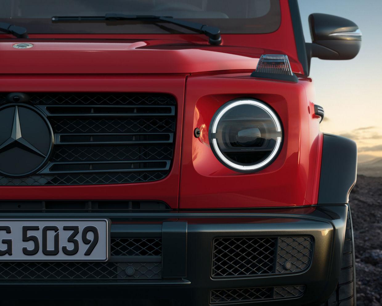 MARKUS WENDLER : Mercedes Benz G Class Manufaktur 'STRONGER THAN TIME' Edition