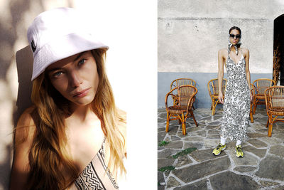 NINA KLEIN, Hair & Make Up: Taii Schmoll, Lottermann and Fuentes, LALA BERLIN