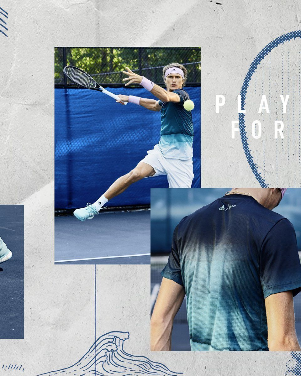 "GLAM Production produced adidas Tennis campaign Parly ""Play for the Ocean"""