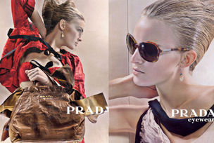 MUNICH MODELS : YMRE Stiekema for PRADA