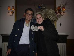 Armin Chodzinski und Julia Garnatz Galerie (Afterwork im marsil)