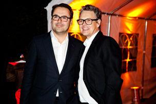 Winner Dinner 2011 : Armin Jochum (Jung von Matt), Rolf Scheider