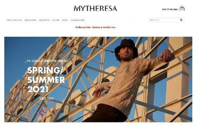 GLAM PRODUCTION : produces for MYTHERESA featuring DAVID CORENSWET