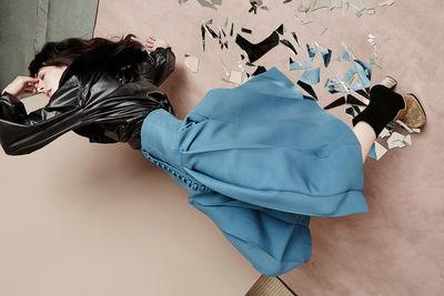 'Shattered Reflection' Jette Stolte for SLEEK Magazine