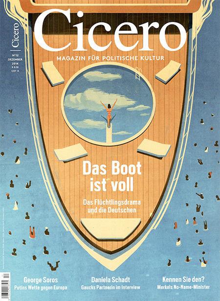 2AGENTEN: Emiliano Ponzi for Cicero Magazin