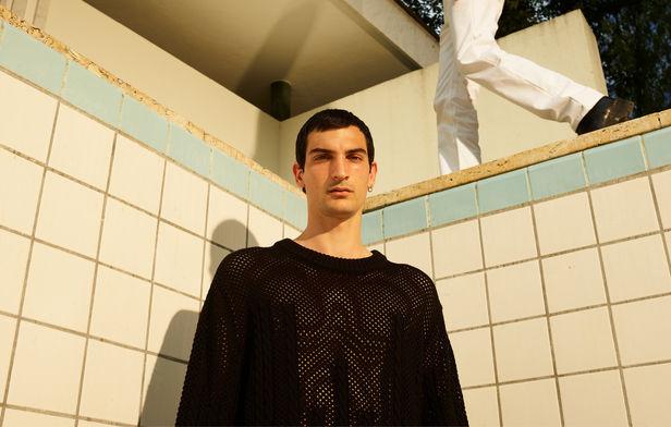 Horst Diekgerdes c/o SHOTVIEW ARTISTS MANAGEMENT For LGN Louis Gabriel Nouchi FW 20/21 Campaign