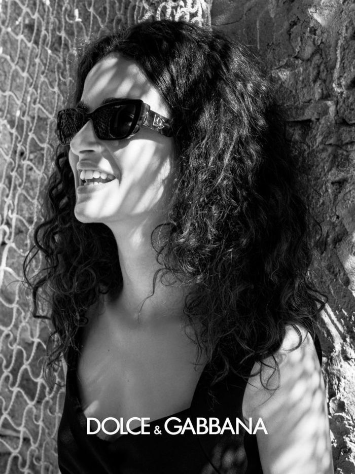ICONIC : Chiara Scelsi for Dolce & Gabanna F/W 20-21 EYEWEAR Campaign