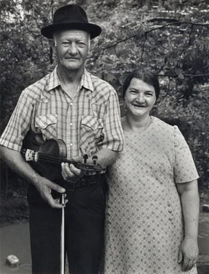 Shelby Lee Adams : Salt & Truth - Marion Sumner and Wife, 1985