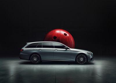 IGOR PANITZ PHOTOGRAPHY: Mercedes E-Klasse Bowling
