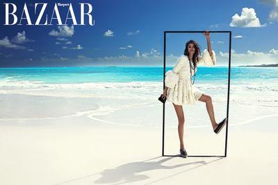 H&M by Nina Tatavitto for Harper's Bazaar Hong Kong shot by Cintia Alexander Barroso
