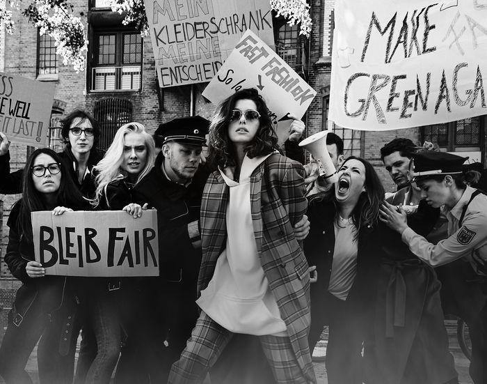 COSMOPOLA GMBH | Alexandra Kinga Fekete - Protest! with Marie Nasemann for Barbara Magazin